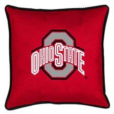 NCAA Ohio State Sidelines Throw Pillow