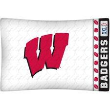 NCAA Wisconsin Pillowcase