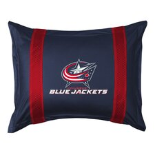 NHL Columbus Blue Jackets Sidelines Sham