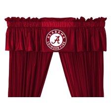 """NCAA 88"""" Alabama Crimson Tide Curtain Valance"""