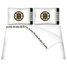 NHL Boston Bruins Microfiber Sheet Set