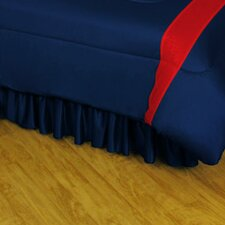 NHL Columbus Blue Jackets Polyester Jersey Bed Skirt