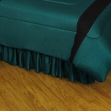 NHL San Jose Sharks Polyester Jersey Bed Skirt