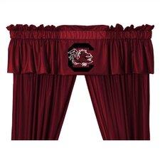 "NCAA 88"" South Carolina Gamecocks Curtain Valance"