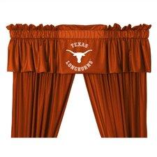 """NCAA 88"""" Texas Longhorns Curtain Valance"""