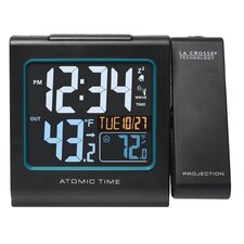Atomic Wall Clock Solar Power