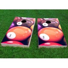Billiards Cornhole Game (Set of 2)