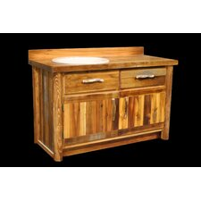 "Barnwood 48"" Bathroom Vanity Base"