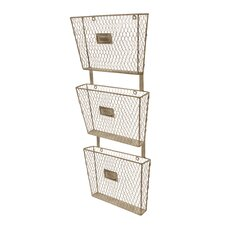 Metal 3 Tier File Holder