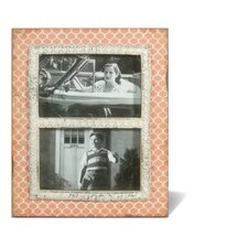 Wood Double Picture Frame