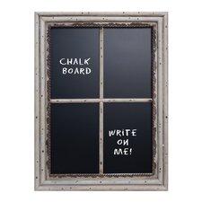 Window Pane Wall Mounted Chalkboard, 2' H x 2' W