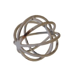 Metal Ball Sculpture (Set of 2)