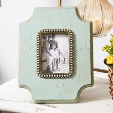 Wood Jeweled Picture Frame