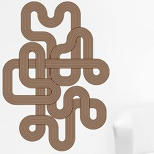Endless Retro Wall Decal
