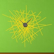 Abstract Wall Clock Wall Decal