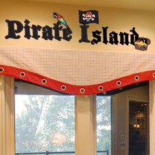 Pirate Island Wall Decal