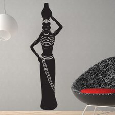 African Woman II Wall Decal
