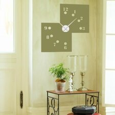 Missing Numbers Wall Clock Wall Decal