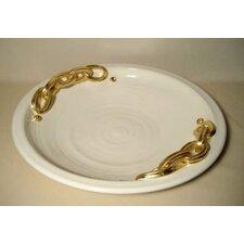 52 cm Teller aus Keramik