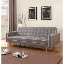 2 Tone Mid Century Sleeper Sofa