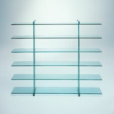 "Teso 78.7"" Accent shelves Bookcase"