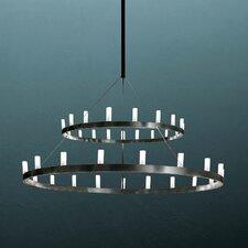 Chandelier Two Tier Hanging Lamp