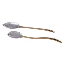Feather 2 Piece Salad/Serving Tongs
