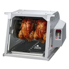 Digital Showtime™ Grey Edition BBQ and Rotisserie Oven