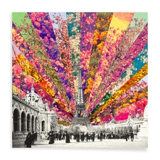 Vintage Paris by Bianca Green Graphic Art on Canvas