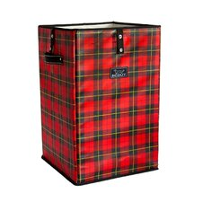 Remember the Tartans Plaid Collapsible Laundry Hamper or Trash Cache