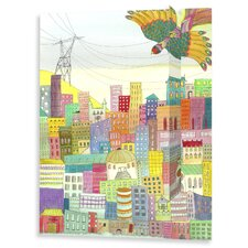 Ma Ville Painting Print on Wrapped Canvas