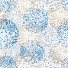 Serenity Circles Graphic Art