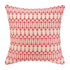 Iza Pearl Dottie Delight Embroidered Throw Pillow