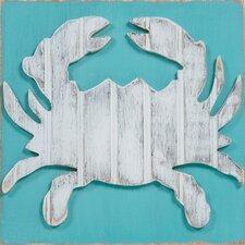 Coastal Wildlife Crab Wall Decor