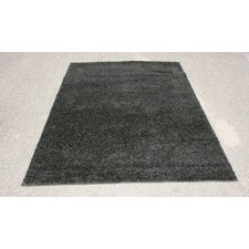 Modern Shag Black Area Rug