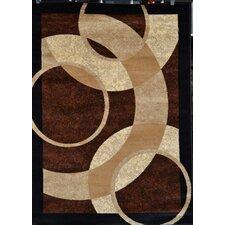 Modern Brown/Black Area Rug