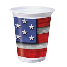 Fourth of July 16 oz. Cup (Set of 8)