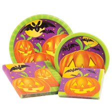 Pumpkin Shine 4 Piece Dinnerware Set (Set of 64)