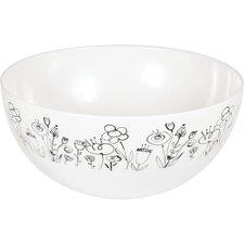 Melamine Mod Blooms Bowl