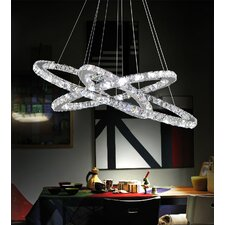 Ring LED Light Chandelier