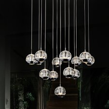 Perrier 13 Light Mini Chandelier
