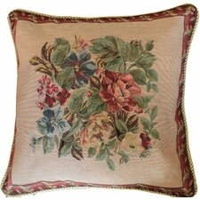 Yuletide Blossom Cushion Cover