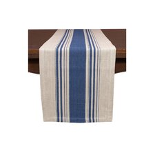Cote Herringbone Stripe Table Runner