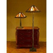Serena d'italia 2 Piece Table and Floor Lamp Set