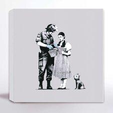 Leinwanddruck Dorothy von Banksy - 41 x 41 cm