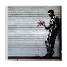 Leinwanddruck Date Night von Banksy - 41 x 41 cm