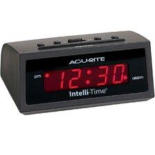 AcuRite Amber Intellitime Alarm Clock