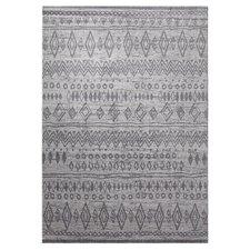 Teppich Contemporary Kelim in Grau