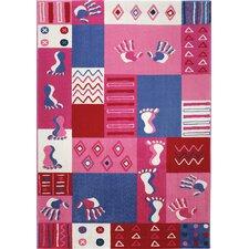 TeppichHands & Feet in Pink