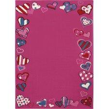 TeppichJust Hearts in Pink